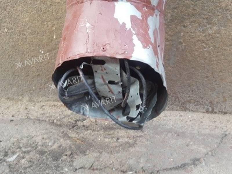 Крепление кабеля не выдержало